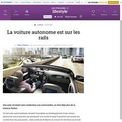 La voiture autonome est sur les rails