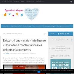"La ""vraie"" intelligence"