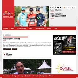 Web Oficial de la Vuelta a España