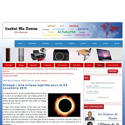 Éclipse hybride 3 novembre 2013