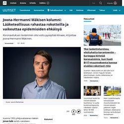 Joona-Hermanni Mäkisen kolumni: Lääketeollisuus rahastaa rokotteilla ja vaikeuttaa epidemioiden ehkäisyä