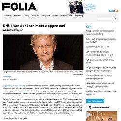 DNU: 'Van der Laan moet stoppen met insinuaties'