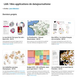 LAB / Datajournalism apps