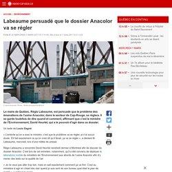 1er mars 2017-Labeaume persuadé que le dossier Anacolor va serégler