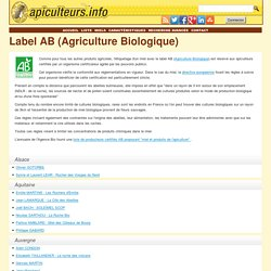 Label AB (Agriculture Biologique)
