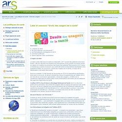 """Label et concours """"droits des usagers de la santé"""""""