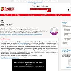 Médiathèque Béziers-agglo