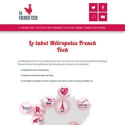 Le label Métropoles French Tech