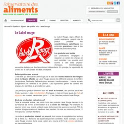 Le Label rouge