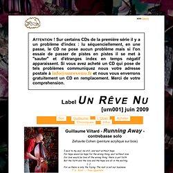 Label Un Rêve Nu : URN001