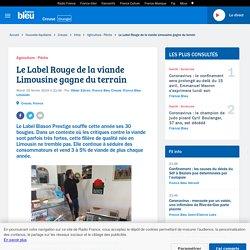 FRANCE BLEU 19/02/19 Le Label Rouge de la viande Limousine gagne du terrain