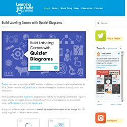 Build Labeling Games with Quizlet Diagrams