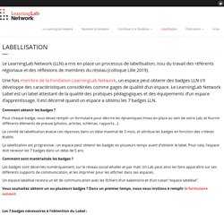 Labellisation - Learning Lab Network
