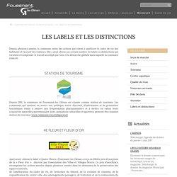Les labels et les distinctions – Mairie de Fouesnant – les Glénan