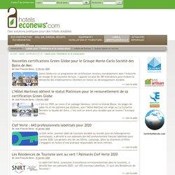 Labels pour l'hôtellerie et la restauration - Hotels Eco News