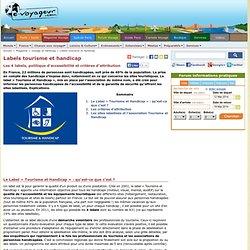 Labels tourisme et handicap