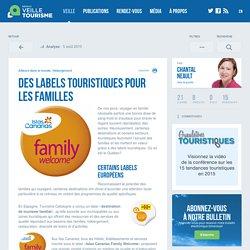 Des labels touristiques pour les familles