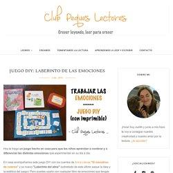 Juego DIY: Laberinto de las emociones - Club Peques Lectores: cuentos y creatividad infantil