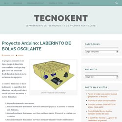 Proyecto Arduino: LABERINTO DE BOLAS OSCILANTE – TecnoKent