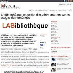 LABibliothèque, un projet d'expérimentation sur les usages du numérique