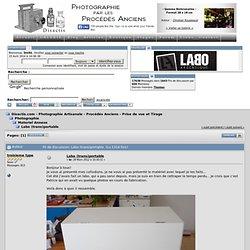 Labo (trans)portable