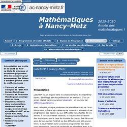 LaboMEP - Documents d'accompagnement (académie de Nancy)