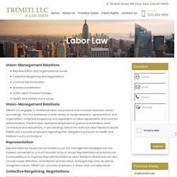 Collective Bargaining Attorney in NYC