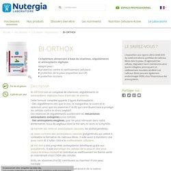 Bi-orthox - Laboratoire Nutergia - Compléments alimentaires