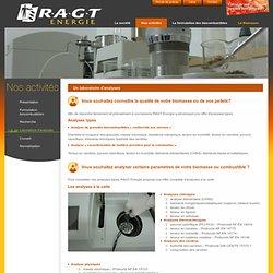 Laboratoire d'analyses - RAGT Energie