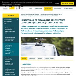 Laboratoire Heudiasyc - UMR CNRS 7253