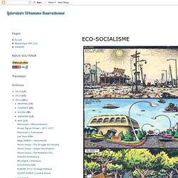 ECO-SOCIALISME
