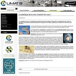 Laboratoire LIMATB - Le plastique de la mer a besoin de vous !