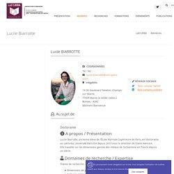 Laboratoire Lab'URBA: Lucile Biarrotte