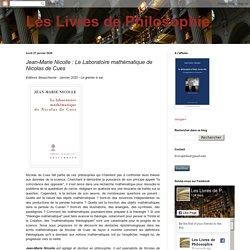 Jean-Marie Nicolle : Le Laboratoire mathématique de Nicolas de Cues
