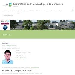 Jiandi Zou – Laboratoire de Mathématiques de Versailles