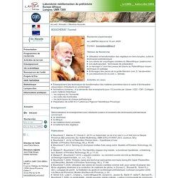 Laboratoire Méditerranéen de Préhistoire Europe Afrique - LAMPEA - BOUCHERAT Toomaï