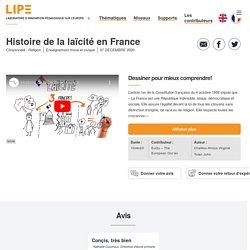 Histoire de la laïcité en France - LIPE : Laboratoire d'innovation pédagogique sur l'Europe