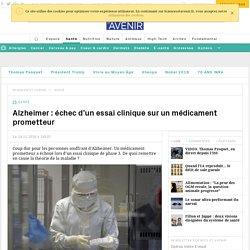 Un médicament anti-Alzheimer du laboratoire pharmaceutique Eli Lilly a échoué lors d'un essai clinique
