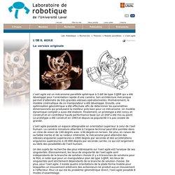 Laboratoire de robotique - L'oeil agile