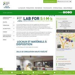 Laboratoire de simulation - Faculté de médecine du Kremlin-Bicêtre