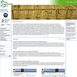 ESE Laboratoire d'Ecologie, Systématique et Evolution