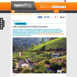 L'Inde, laboratoire du système D écologique