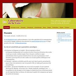 Phoniatre Paris - Laboratoire de la VoixLaboratoire de la Voix