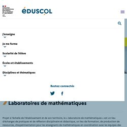 Laboratoires de mathématiques