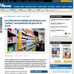 """Les laboratoires obligés de déclarer tout """"cadeau"""" aux médecins de plus de 10 euros"""