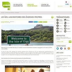 Les îles, laboratoires des énergies propres