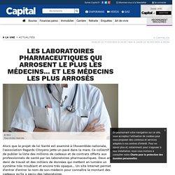 Les laboratoires pharmaceutiques qui arrosent le plus les médecins... et les médecins les plus arrosés