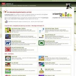Laborator virtual de Informatică şi TIC - EFK - Software educaţional pentru copii - Secţiunea 1 - elearning, e-Learning for kids