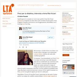 Prezi per la didattica, intervista a Anna Rita Vizzari