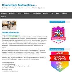 Laboratorio di Fisica – Competenza Matematica e…